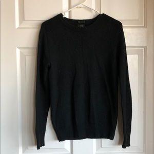 J.Crew black slim wool sweater size S